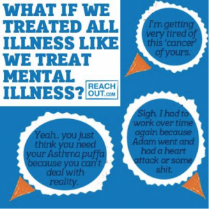 Why do we treat mental illness differently?