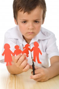 Help your child cope with divorce, don't let them get caught in the crossfire