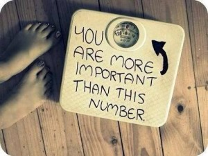 Your weight is the LEAST interesting thing about you
